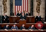 Image of President Lyndon Johnson first address to Congress Washington DC USA, 1963, second 8 stock footage video 65675070779