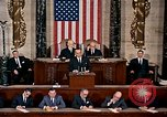 Image of President Lyndon Johnson first address to Congress Washington DC USA, 1963, second 11 stock footage video 65675070779