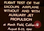 Image of Ercoupe airplane California United States USA, 1941, second 1 stock footage video 65675070799