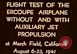 Image of Ercoupe airplane California United States USA, 1941, second 3 stock footage video 65675070799