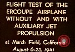 Image of Ercoupe airplane California United States USA, 1941, second 4 stock footage video 65675070799