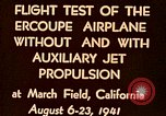 Image of Ercoupe airplane California United States USA, 1941, second 5 stock footage video 65675070799