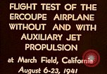 Image of Ercoupe airplane California United States USA, 1941, second 8 stock footage video 65675070799
