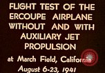 Image of Ercoupe airplane California United States USA, 1941, second 9 stock footage video 65675070799