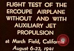 Image of Ercoupe airplane California United States USA, 1941, second 11 stock footage video 65675070799