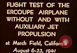 Image of Ercoupe airplane California United States USA, 1941, second 12 stock footage video 65675070799