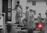 Image of U.S. Army Military Police polygraph crime suspect Georgia United States USA, 1962, second 7 stock footage video 65675070837
