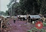 Image of Cambodian refugees Boung Long Cambodia, 1970, second 3 stock footage video 65675070843