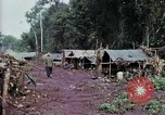 Image of Cambodian refugees Boung Long Cambodia, 1970, second 4 stock footage video 65675070843