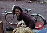 Image of Cambodian refugees Boung Long Cambodia, 1970, second 7 stock footage video 65675070847