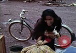 Image of Cambodian refugees Boung Long Cambodia, 1970, second 8 stock footage video 65675070847