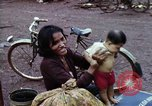 Image of Cambodian refugees Boung Long Cambodia, 1970, second 11 stock footage video 65675070847