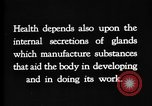 Image of human glands United States USA, 1922, second 6 stock footage video 65675070865