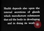 Image of human glands United States USA, 1922, second 11 stock footage video 65675070865