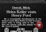 Image of Helen Keller Detroit Michigan USA, 1914, second 1 stock footage video 65675070878