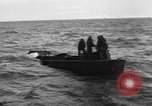 Image of Landing Craft Mechanized sinks on D-Day English Channel, 1944, second 9 stock footage video 65675070901