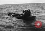 Image of Landing Craft Mechanized sinks on D-Day English Channel, 1944, second 10 stock footage video 65675070901
