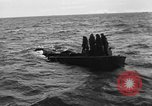 Image of Landing Craft Mechanized sinks on D-Day English Channel, 1944, second 11 stock footage video 65675070901