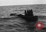 Image of Landing Craft Mechanized sinks on D-Day English Channel, 1944, second 12 stock footage video 65675070901