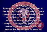 Image of voting rights legislation United States USA, 1965, second 12 stock footage video 65675070903