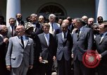 Image of civil rights leaders Washington DC USA, 1963, second 10 stock footage video 65675070908