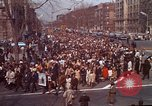 Image of Martin Luther King funeral procession to Morehouse College Atlanta Georgia USA, 1968, second 2 stock footage video 65675070914