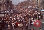 Image of Martin Luther King funeral procession to Morehouse College Atlanta Georgia USA, 1968, second 8 stock footage video 65675070914