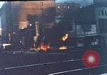 Image of burning building Washington DC USA, 1968, second 1 stock footage video 65675070919