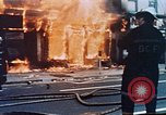 Image of burning building Washington DC USA, 1968, second 10 stock footage video 65675070919