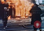 Image of burning building Washington DC USA, 1968, second 11 stock footage video 65675070919