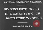 Image of USS Wyoming Philadelphia Pennsylvania USA, 1931, second 3 stock footage video 65675070925