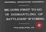 Image of USS Wyoming Philadelphia Pennsylvania, 1931, second 4 stock footage video 65675070925