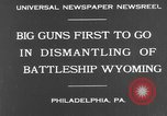 Image of USS Wyoming Philadelphia Pennsylvania, 1931, second 5 stock footage video 65675070925