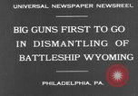 Image of USS Wyoming Philadelphia Pennsylvania USA, 1931, second 6 stock footage video 65675070925