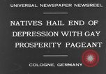 Image of Rose Monday festival Cologne Germany, 1931, second 4 stock footage video 65675070927