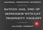 Image of Rose Monday festival Cologne Germany, 1931, second 5 stock footage video 65675070927