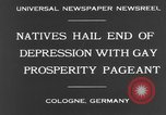 Image of Rose Monday festival Cologne Germany, 1931, second 9 stock footage video 65675070927