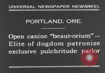 Image of beauty treatments for dogs Portland Oregon USA, 1931, second 7 stock footage video 65675070930