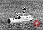 Image of water-ski polo Winter Haven Florida USA, 1931, second 11 stock footage video 65675070932