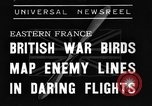 Image of British fliers Eastern France, 1939, second 1 stock footage video 65675070942