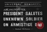 Image of Franklin Roosevelt Arlington Virginia USA, 1939, second 1 stock footage video 65675070947