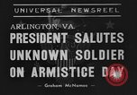 Image of Franklin Roosevelt Arlington Virginia USA, 1939, second 3 stock footage video 65675070947