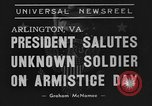 Image of Franklin Roosevelt Arlington Virginia USA, 1939, second 4 stock footage video 65675070947