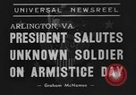 Image of Franklin Roosevelt Arlington Virginia USA, 1939, second 6 stock footage video 65675070947