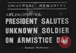 Image of Franklin Roosevelt Arlington Virginia USA, 1939, second 7 stock footage video 65675070947