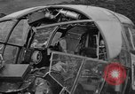 Image of Sightseers  surround downed German Heinkel He-111bomber Scotland United Kingdom, 1939, second 30 stock footage video 65675070948