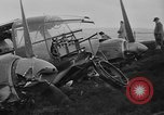 Image of Sightseers  surround downed German Heinkel He-111bomber Scotland United Kingdom, 1939, second 32 stock footage video 65675070948