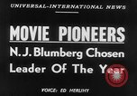 Image of motion picture pioneers New York United States USA, 1952, second 2 stock footage video 65675070967