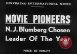 Image of motion picture pioneers New York United States USA, 1952, second 4 stock footage video 65675070967