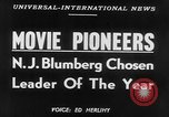 Image of motion picture pioneers New York United States USA, 1952, second 6 stock footage video 65675070967